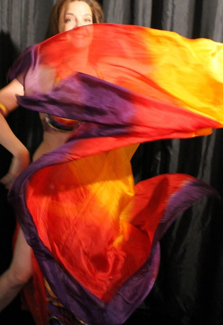 Silk Veil - Red/Orange/Purple Firefox