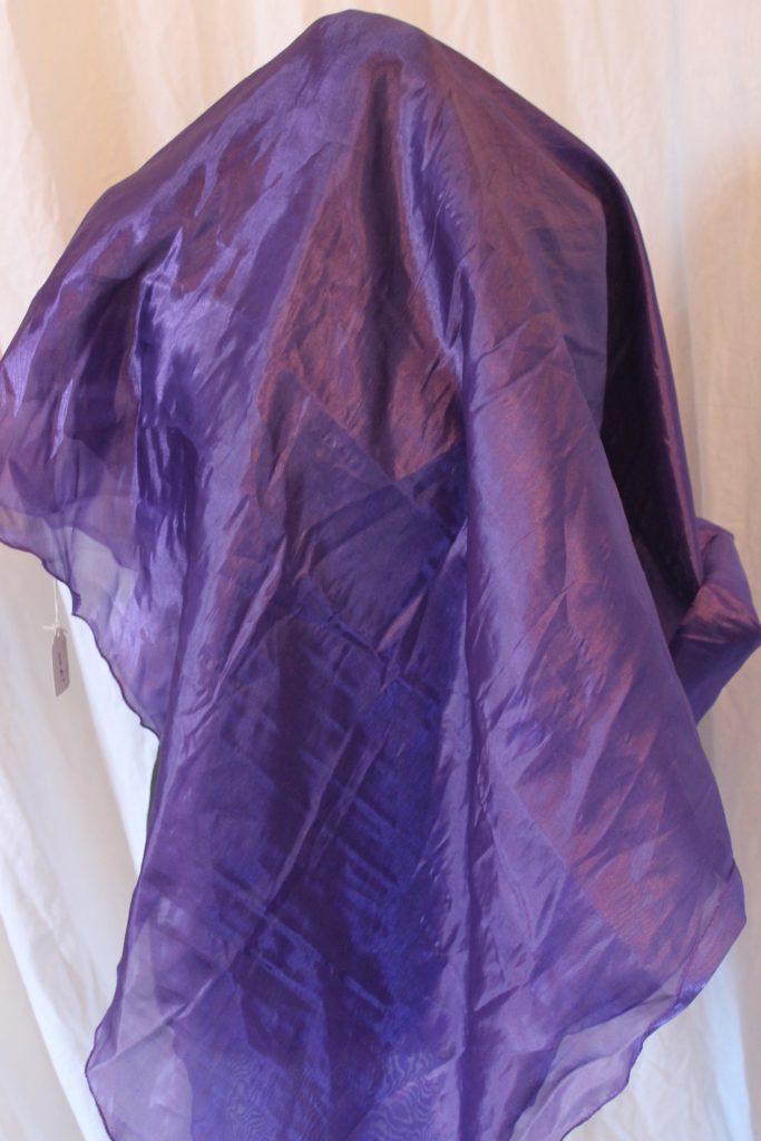 82f132fde Shiny Semi Circular Veil - Purple - Farida Dance