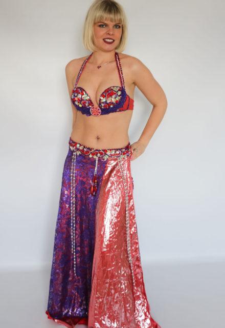 750c5c04c Hanan Wraparound Skirt Belly Dance Costumes Archives - Farida Dance