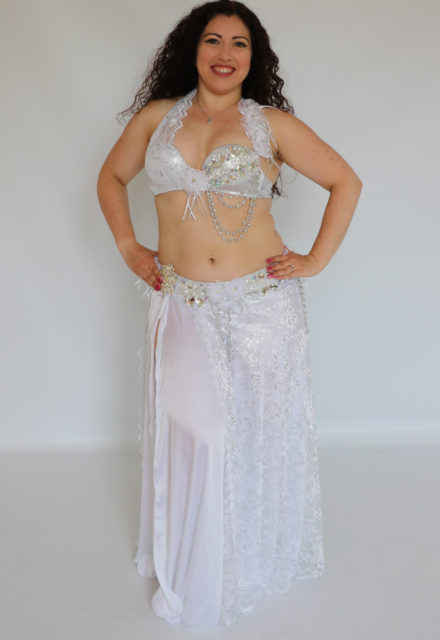 cf2c4b02d Hanan Bellydance Costume - Rosa Burgundy Glitter - Farida Dance