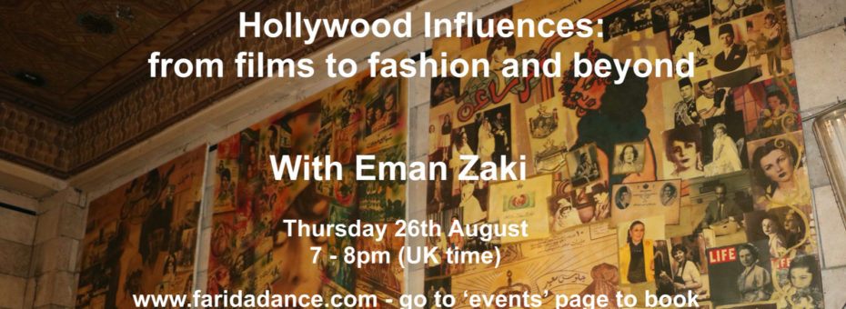 Hollywood Influences with Eman Zaki (lecture)